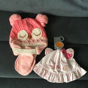 Other - BNWT'S ADORABLE GIRLS HATS